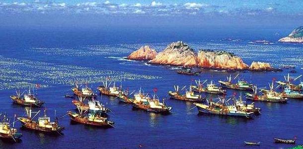 碧海垂钓:嵊泗列岛风景区位于全国著名的舟山