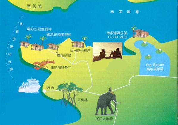 新加坡旅游,民丹岛旅游,新加坡旅游地图,新加坡景点
